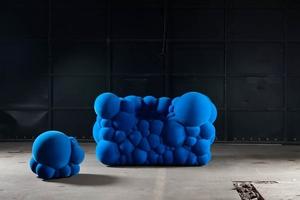 Оригинальная мягкая мебель