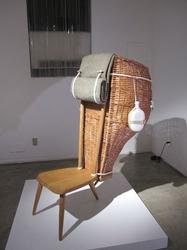 Кресло-контейнер от итальянских дизайнеров с использованием мотивов традиционных ремесел
