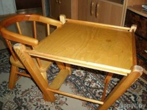 детский стол стул для кормления трансформер