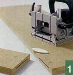 Приклейка боковых изделий к верхней части