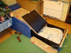 Кровать раскладная детскя с тумбой