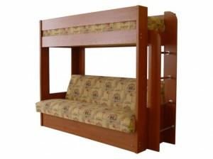 двухъярусная кровать с диваном Элегия