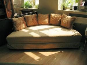 Кровать круглая раскладная Лотос