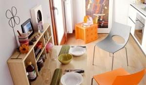 Раскладной столик трансформер для кухни