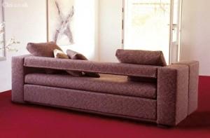 Диван двухъярусная кровать: вид сзади