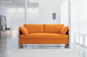 Диван двухъярусная кровать в собранном виде