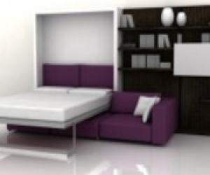 Шкаф кровать, шкаф кровать трансформер, встроенная кровать в шкаф, кровать со шкафом