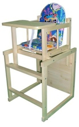 детский столик трансформер, стол трансформер, стульчик трансформер для кормления