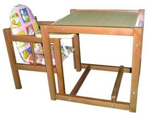 Детский столик трансформер, стол трансформер, столик трансформер для кормления