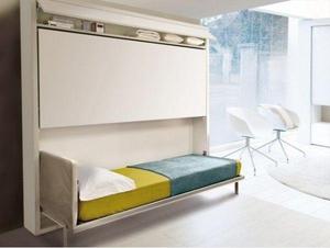 Компактная двухэтажная кровать для интерьера