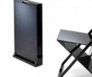 Самый тонкий складной стул. Стул Isis, тонкий складной стул Isis, Стул Isis, Isis