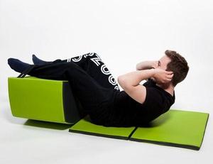 Jopple – компактная фитнес-мебель для офиса