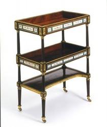 старинный столик, старинная мебель трансформер
