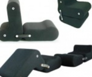 трансформирующееся кресло подстраивается под человека