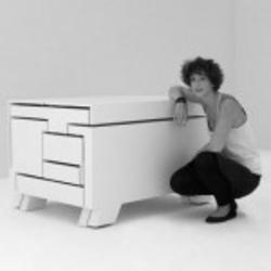 Оригинальная мебель трансформер в виде паралелепипеда