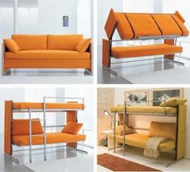 диван-двухъярусная кровать трансформер