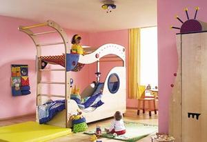 Отличная двухъярусная кровать-трасформер