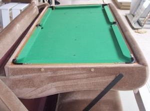 Диван трансформер превращается в бильярдный стол