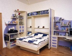 Модели трансформеров кроватей-шкафов