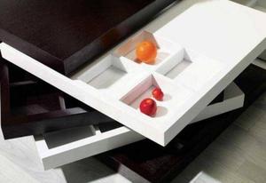 Стильный журнальный столик трансформер с тайником