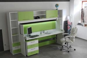 Детская мебель трансформер - стол кровать шкаф