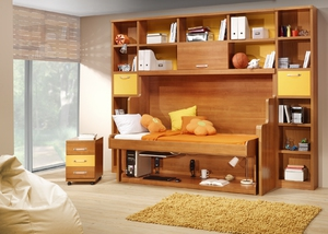 Детская мебель трансформер – стол кровать