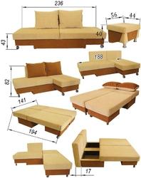 Какой бывает мебель-трансформер