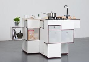 Компактные кухни трансформеры - выход для маленьких кухонь