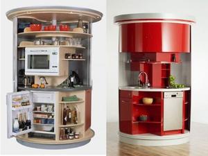 Кухня-трансформер и ее разновидности