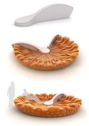 Надувная мебель трансформер PicCells