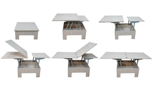 Стол-трансформер - оптимальный вариант для гостиной