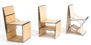 Необычная трансформирующаяся мебель Loop Chair