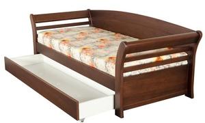 Раскладная кровать с ящиками для белья