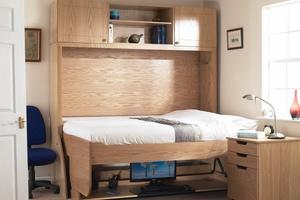 Оригинальная раскладная кровать для студентов и школьников - StudyBed